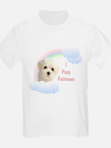 I Poop Rainbows Puppy T-Shirt
