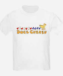 Duck Cheny and Ducklings Kids T-Shirt