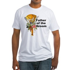 Jumping the Broom Father of the Groom Fitted T-Shi