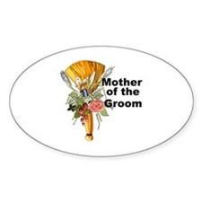 Jumping the Broom Mother of the Groom Decal