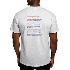 Running Glossary T-Shirt