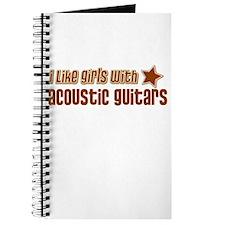 I Like Girls with Acoustic Gu Journal