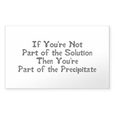 Part of the Solution Sticker (Rectangular)