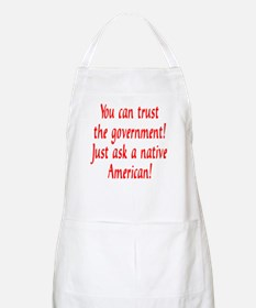 You can trust the government! BBQ Apron
