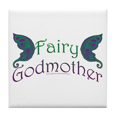 Fairy Godmother Tile Coaster