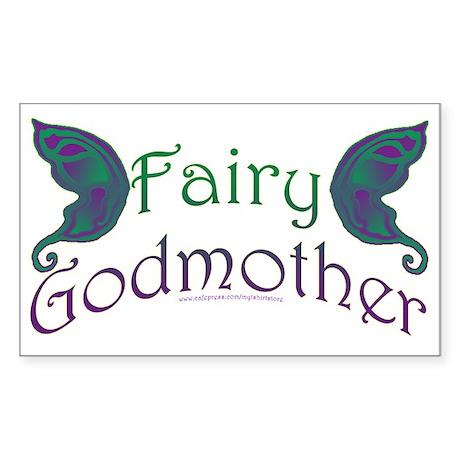 Fairy Godmother Rectangle Sticker