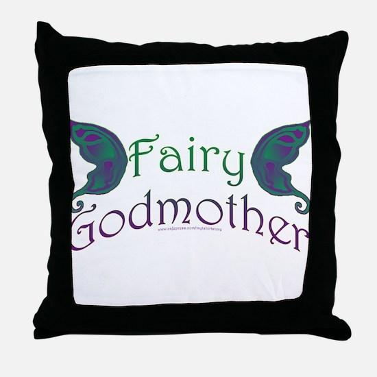 Fairy Godmother Throw Pillow