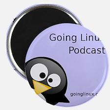 "Cute Going linux album art 2.25"" Magnet (10 pack)"