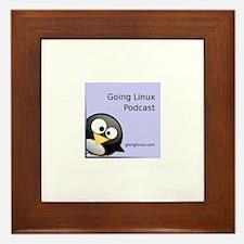 Cute Going linux album art Framed Tile