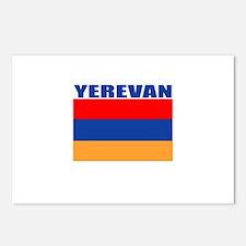 Yerevan, Armenia Postcards (Package of 8)