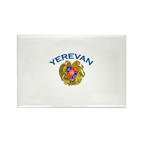 Yerevan, Armenia Rectangle Magnet (100 pack)