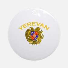 Yerevan, Armenia Ornament (Round)