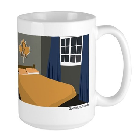Goodnight, Canada Large Mug