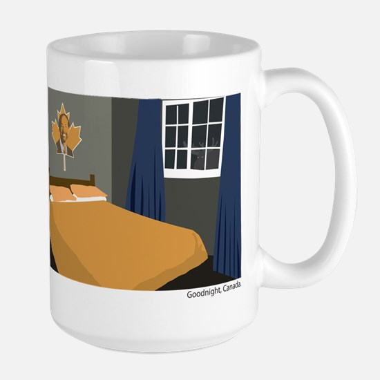 Goodnight, Canada Large Mug