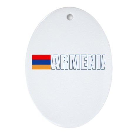 Armenia Oval Ornament
