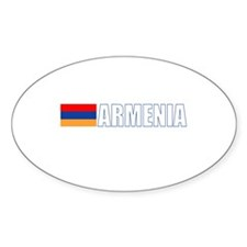 Armenia Oval Decal