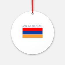 Armenia Ornament (Round)