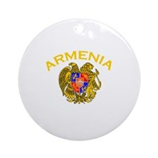 Armenia Ornament (Round)