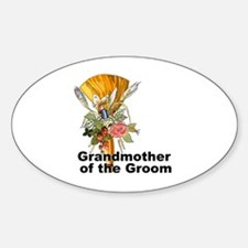 Jumping the Broom Grandmother of the Groom Decal