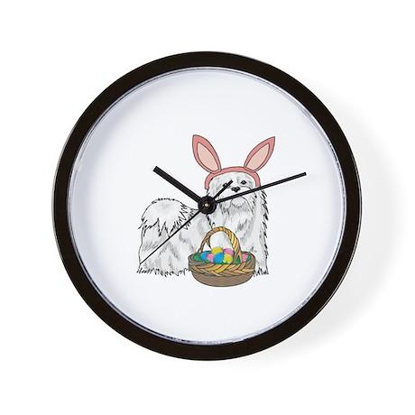 Easter Bunny Maltese Wall Clock