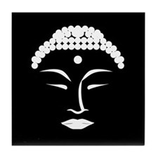 Buddha Head 4 Tile Coaster