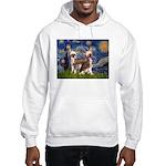 Starry Night / 2Chinese Crest Hooded Sweatshirt