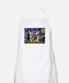 Starry Night / 2Chinese Crest Apron