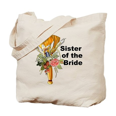 Jumping the Broom Sister of the Bride Tote Bag