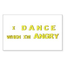 Dance - Rectangle Decal