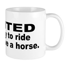 Ride Cowboy Save Horse Mug