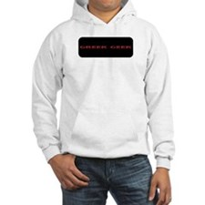 College Greek Geek Fun Hoodie