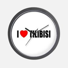 I Love Tilibisi Wall Clock