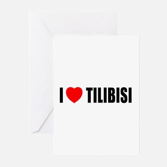I Love Tilibisi Greeting Cards (Pk of 10)