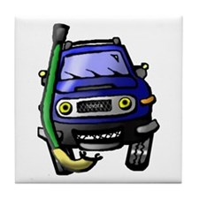 Cute Fj cruiser Tile Coaster