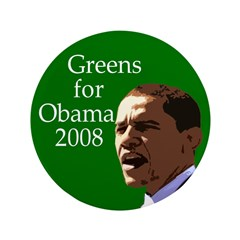 Greens for Obama 3.5