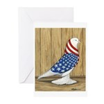 Patriotic West Greeting Cards (Pk of 20)