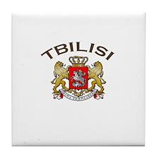Tbilisi, Georgia Tile Coaster