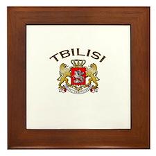 Tbilisi, Georgia Framed Tile