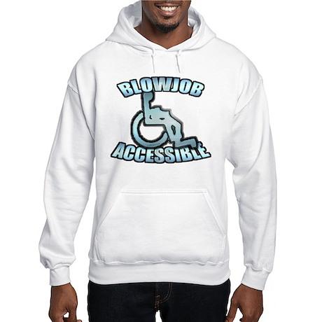 Blowjob Accessible Hooded Sweatshirt