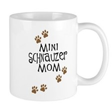 Mini Schnauzer Mom Mug