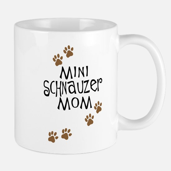 Mini Schnauzer Mom Mug