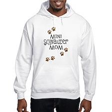 Mini Schnauzer Mom Hoodie