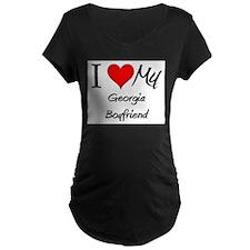 I Love My Georgia Boyfriend T-Shirt