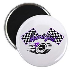 The Purple Fever HemiGirl Magnet