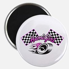 The Hot Pink HemiGirl Magnet