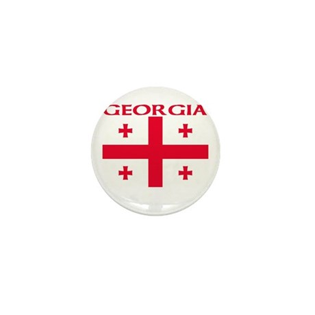 Georgia Mini Button