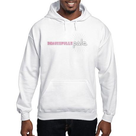 Beautifully Pale Hooded Sweatshirt