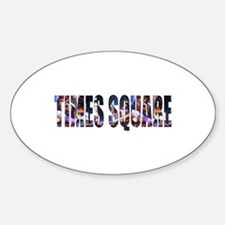 Times Square Oval Decal