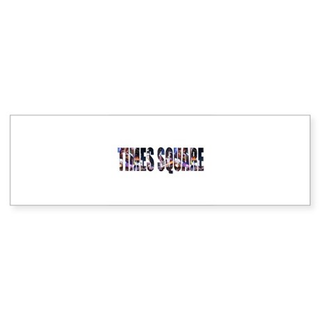 Times Square Bumper Sticker