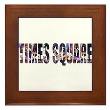 Times Square Framed Tile